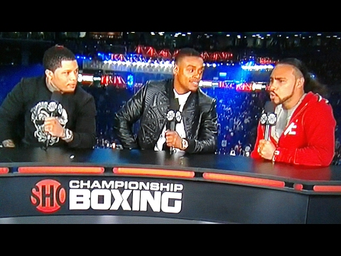 Keith Thurman asked million dollar question while sitting next to Errol Spence