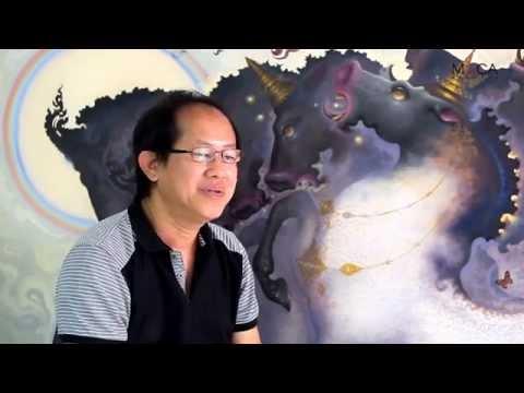 Artist interview   มองชีวิตผ่านม้าและนางละคร : เริงศักดิ์ บุณยวาณิชย์กุล    MOCA BANGKOK