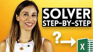 Excel Solver example and step-by-step explanation