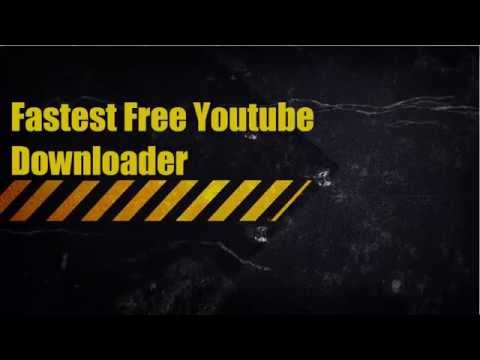 Fastest Free Youtube Online Downloder