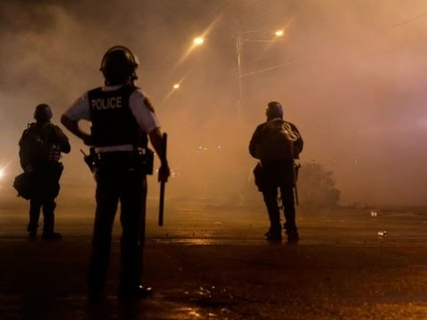 Man Shot As Protesters Defy Curfew in Ferguson