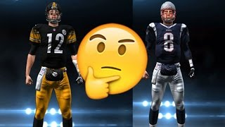 WHAT IF TOM BRADY & BEN ROESTHLISBERGER SWITCHED TEAMS? MADDEN NFL 17