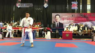 Repeat youtube video AKF 2016 Junior Kata Male FINAL YAMANAKA NOZOMI (JPN) ③-②OOI SAN HONG (MAS)