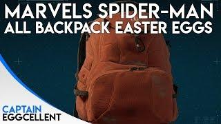 ALL Marvels Spider-Man PS4 Backpack Easter Eggs & References