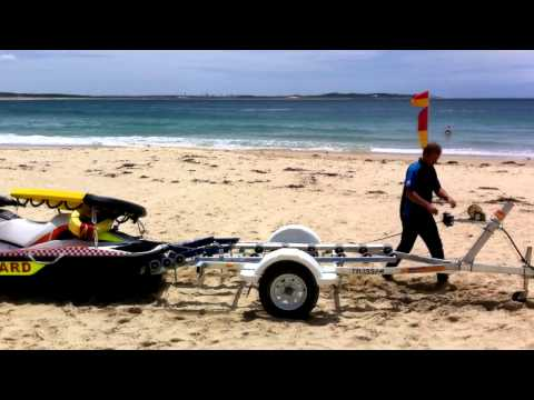 Bold Trailers Customised Jet Ski Trailer For Sutherland Shire Council Lifeguards