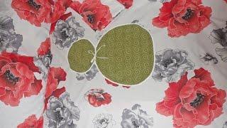Постельный комплект (расчет, раскрой)(В данном видео показано как рассчитать и раскроить ткань на полуторный комплект постельного белья, который..., 2014-09-22T18:37:46.000Z)