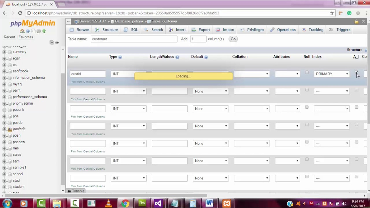 Banking Management System step by step in c# part 6 database