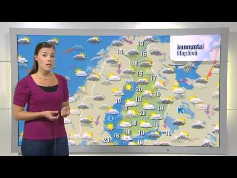 YLE Sää - Kerttu Kotakorpi (10.8.2012) - YouTube