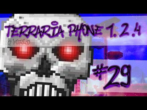 видео: lp. hm. bw. terraria phone 1.2.4 #29 (СПС за 10к и поражение Скелетрона Прайма!)