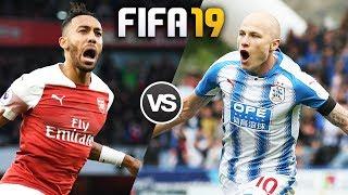 FIFA 19 | อาร์เซนอล VS ฮัดเดอร์สฟิลด์ ทาวน์ | โคตรมันส์...ยิงประตูกันกระจาย !! 1080p 60fps
