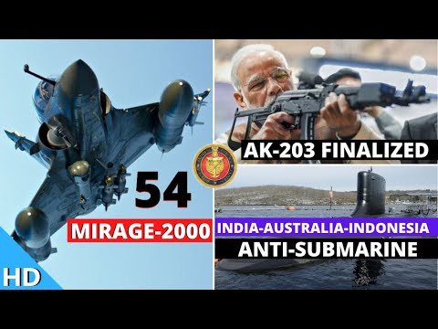 Indian Defence Updates : AK-203 Deal Finalized,54 Mirage-200