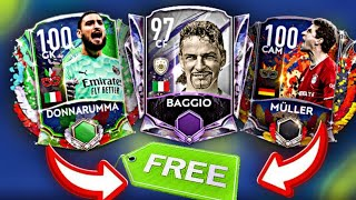 HOW TO GET IĊON BAGGIO, FREE DONNARUMA & MULLER! FULL CARNIBALL EVENT BREAKDOWN! FIFA MOBILE 21!
