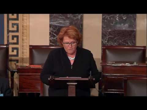 On Senate Floor, Heitkamp Stands Up for North Dakota Sugar Producers against Special Interests