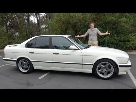 BMW M5 (E34) 1991 года был культовым спортивным седаном 90-х
