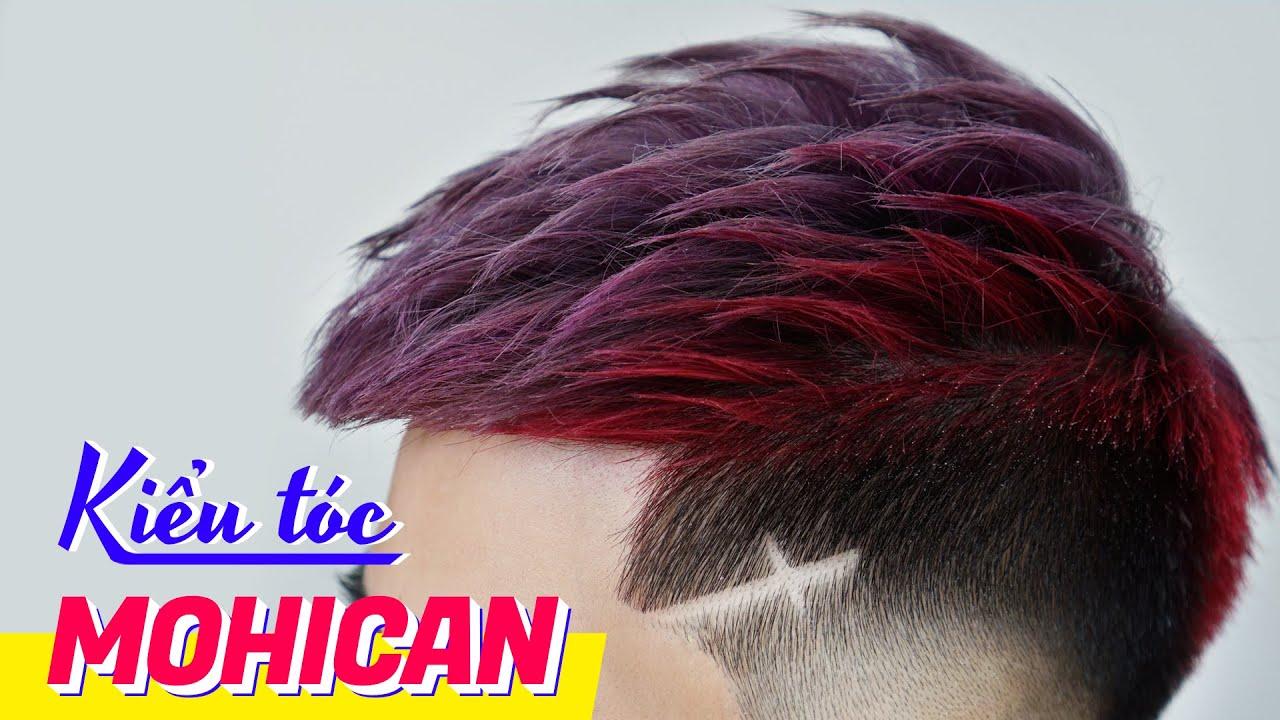 Kiểu tóc MOHICAN – Cắt tóc nam đẹp 2020 – Chính Barber