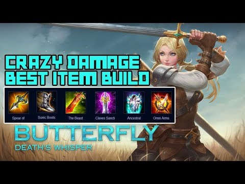 Butterfly Game Play Best Build Assasin Mobile Arena Of Valor Aov