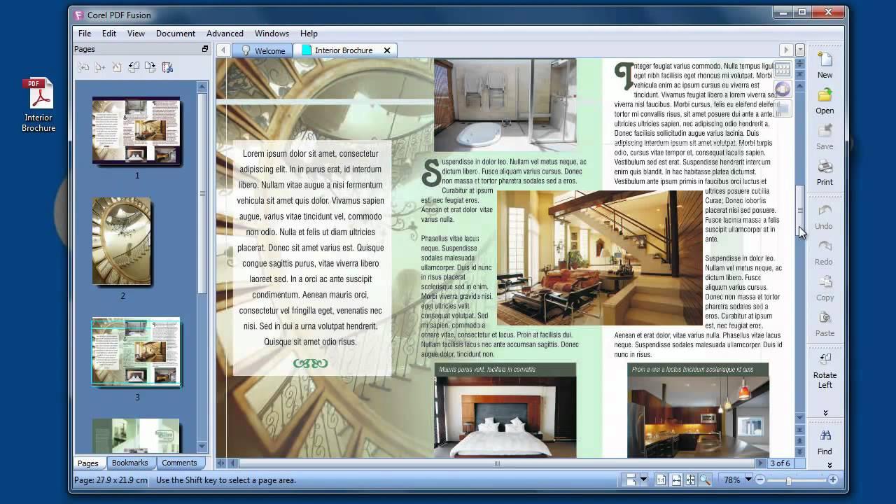 PDF Creator - Corel PDF Fusion