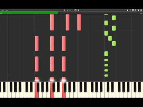 Sunrise Avenue - Hollywood Hills (Synthesia Piano Tutorial) by Marcin Mazurek
