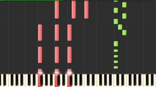 Sunrise Avenue - Hollywood Hills (Synthesia Piano Tutorial) by Marcin Mazurek