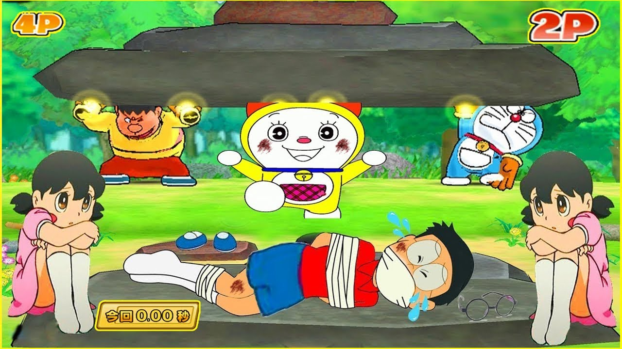 Doraemon Wii Game #22 | Giant Nobita Save Shizuka in Super ...