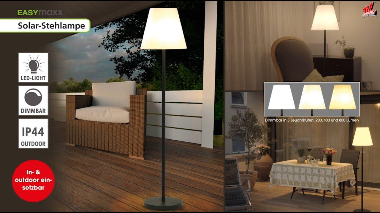 Solar Stehlampe 3 In 1 Bei Angela Bruderer Youtube
