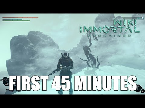 Immortal Unchained: First 45 Minutes (Gameplay)