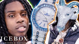 Polo G Spends $200K on Hall of Fame AP & Goat Ring!