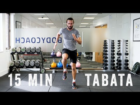 15 Minute Fat Burning TABATA Workout | The Body Coach