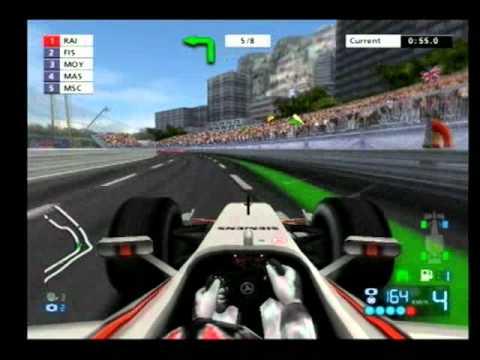 F1 2006 monaco PS2 - YouTube
