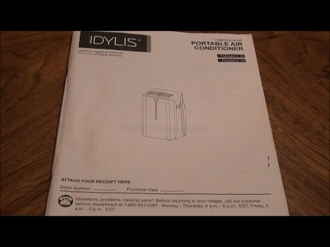 10000 btu portable air conditioner user manual idylis dailymotion lowes idylis 10000 btu ac instructions model 0146709 fandeluxe Images