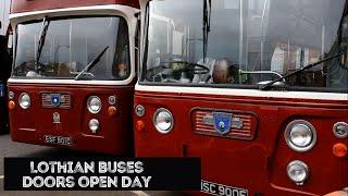 Lothian Buses Doors Open Day 16 - Vintage Bus Rides – Vintage Bus Runing Day – Lothian Bus Open Day