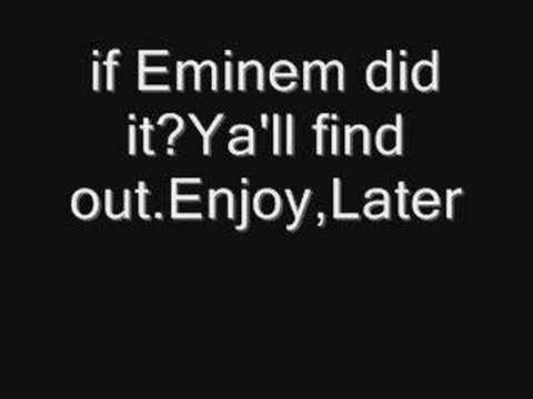 Funny christmas song:What if Eminem did jingle bells?