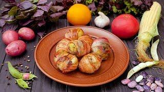 Картофель, запеченный в беконе - Рецепты от Со Вкусом
