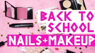 How To: Back To School Beauty with KISS Products! | by tashaleelyn