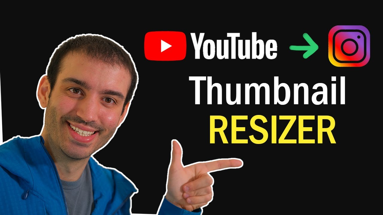 Build a Thumbnail Editor from YouTube to Instagram