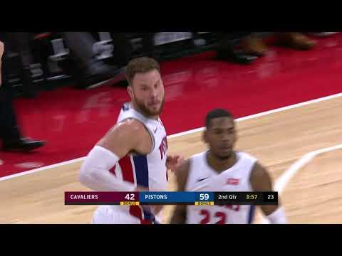 Cleveland Cavaliers vs Detroit Pistons   November 19, 2018