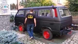 Malowanie Volkswagen T3 ... wałkiem