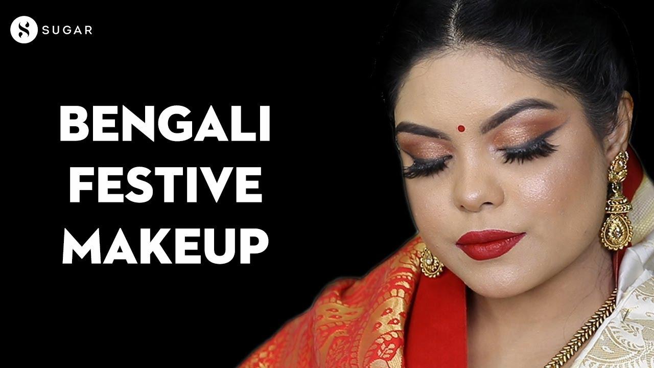 Bengali Festive Makeup Ft.@sohini chanda | Durga Puja Special | Traditional Makeup | SUGAR Cosmetics