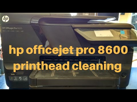 Hp Officejet Pro 8600 Printhead Cleaning