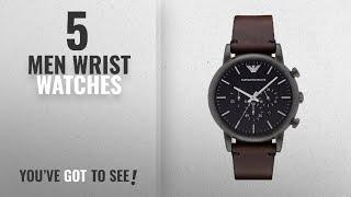Giorgio Armani Wrist Watches [ Winter 2018 ]   New & Popular 2018