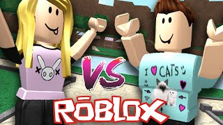 Roblox | Ripull Minigames | Sam VS Denis Battle!