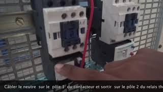 Câblage de puissance moteur : 220 VOLT & 380 VOLT