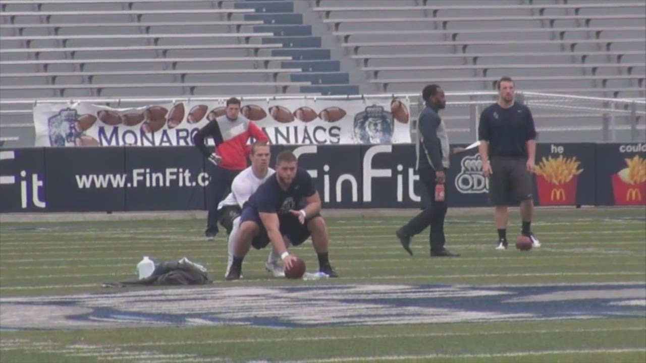 Qb Taylor Heinicke Hopes To Become 1st Player Ever Drafted From Old Dominion Bleacher Report Latest News Videos And Highlights