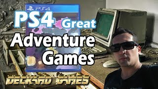 PlayStation 4 (PS4) Great Adventure Games