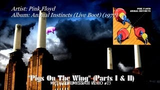 Pigs On The Wing (Parts I & II Live) - Pink Floyd (1977)