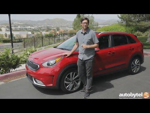 Kia Niro Mpg >> 2017 Kia Niro Hybrid Crossover Test Drive Video Review 46 40 Mpg