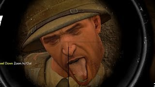 Sniper Elite 3 Afrika 2014 Funny Silly Crazy Stuff Part 2