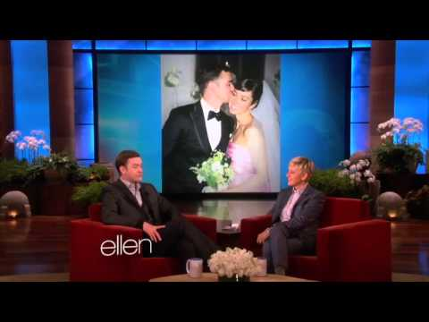 Justin Timberlake Discusses Marriage on Ellen