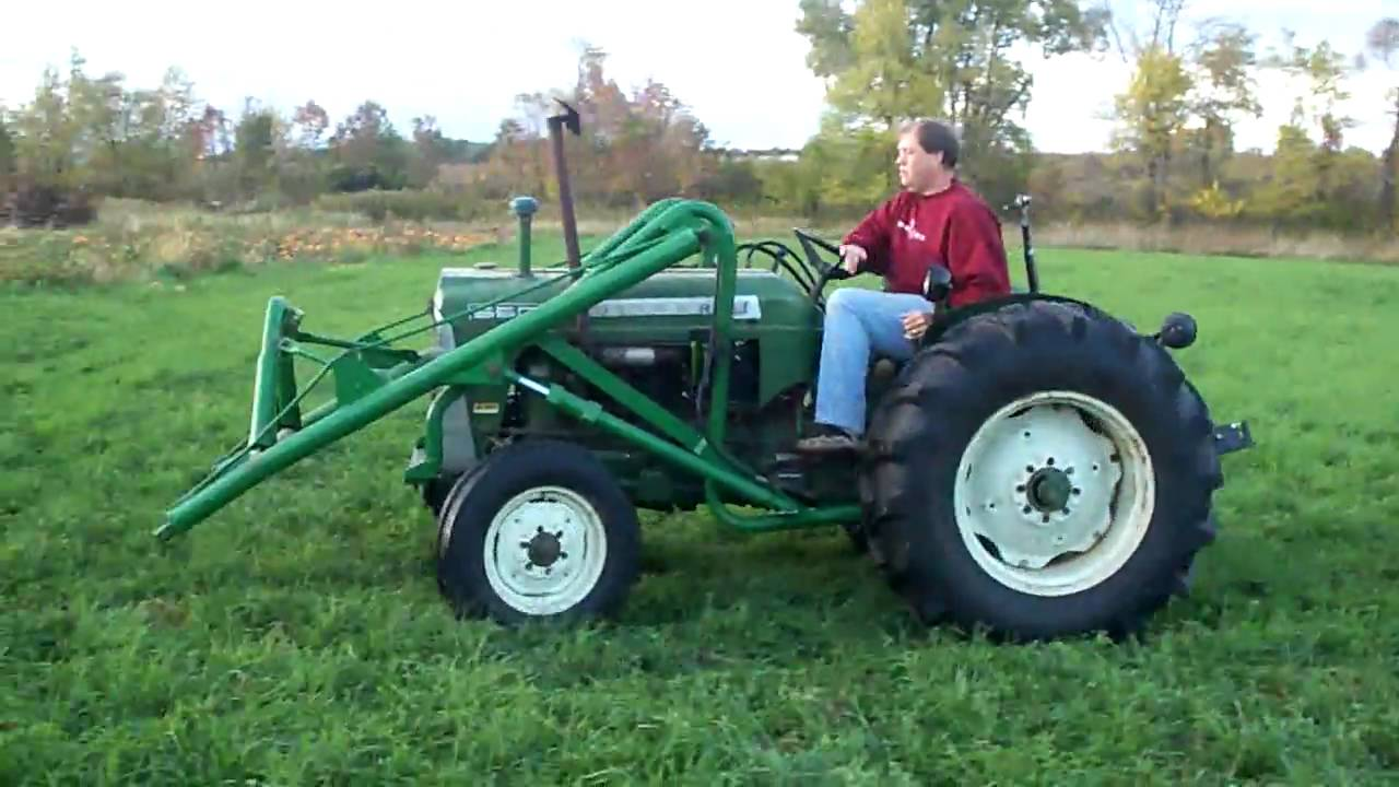 550 Oliver Tractor With Loader : Oliver tractor youtube