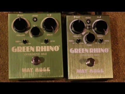 Way Huge Green Rhino MKII vs Green Rhino MKIV